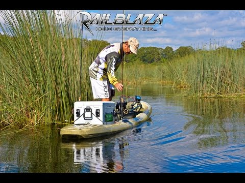 SUP Fly Fishing With RAILBLAZA