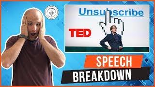 Speech Breakdown:James Veitch TED Talk