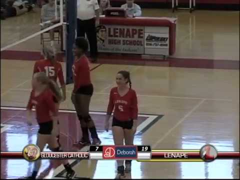 LDTV Sports: Gloucester Catholic at Lenape Volleyball 10/23/17