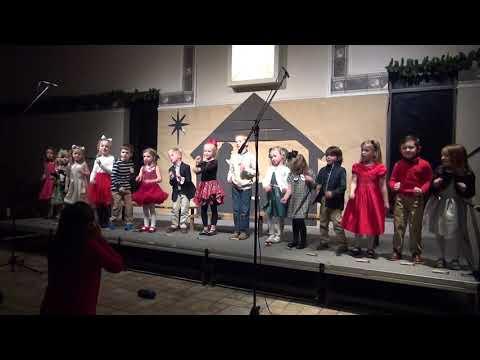 Maximilian Montessori Academy Mrs Meyer Kindergarten Christmas 2018