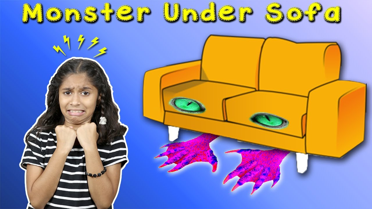 Monster Under Pari's Sofa | Funny Short Film /Story | Pari's Lifestyle