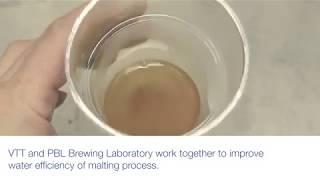 Eco-efficient malting