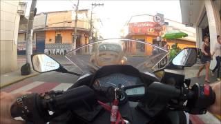 Ninja 300 - Na cidade, Testando Posição da Camera,