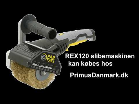 REX120 slibemaskine til