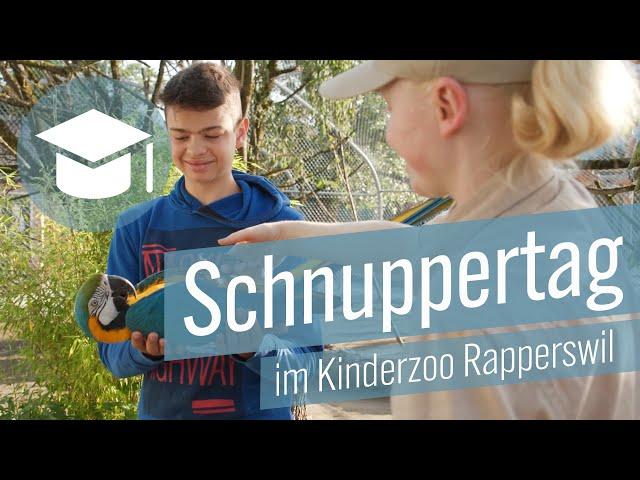 Schnuppertag im Kinderzoo Rapperswil