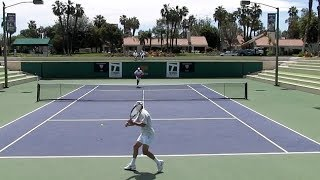 Tennis - Simplify Your Shot's Target