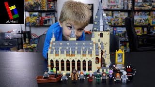 BUILDING OUR FIRST LEGO HARRY POTTER SET!