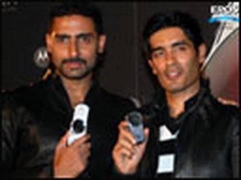 Abhishek Bachchan Unveils the Motorola Aura Cell-Phone