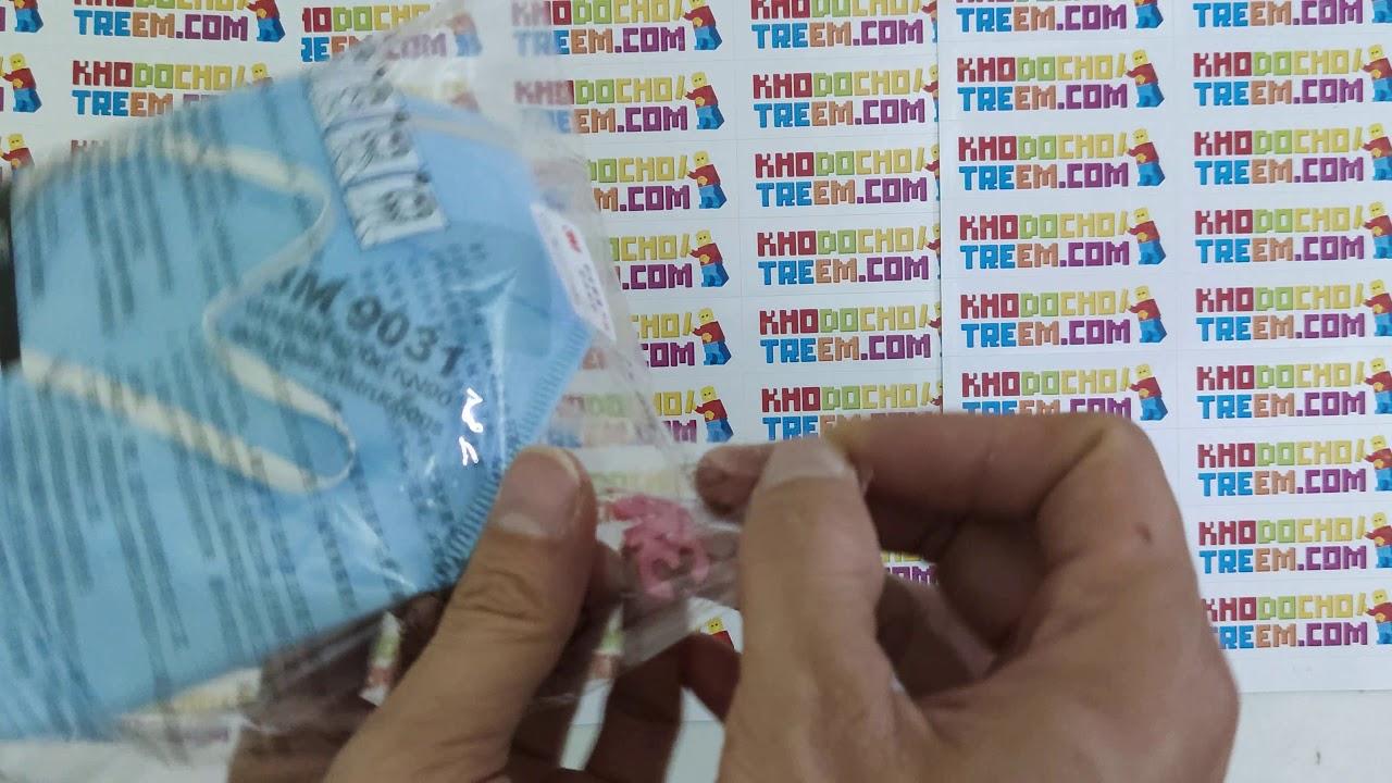 Chính hãng Khẩu trang 3M 9031 KN90 lọc hơn 90% bụi siêu mịn PM2.5 mới hơn 3M 9001 giá sốc rẻ nhất