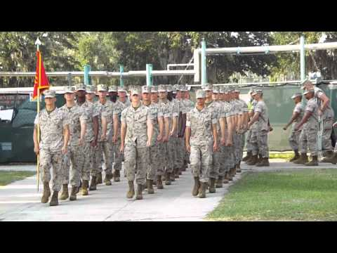 PARRIS ISLAND MARINE CORPS RECRUITING DEPOT TRAINING
