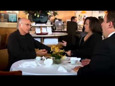 How to pay your lunch bill - Larry David style
