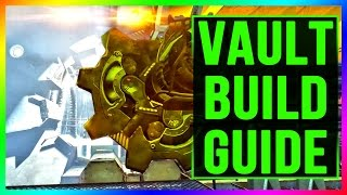 Fallout 4 Vault Tec: HOW TO BUILD A VAULT (Bug Fix, Connecting Rooms, Lighting, Atrium Walkthrough)