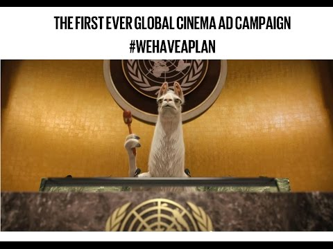 'Behind The Scenes' of the First Ever Global Cinema Ad #WEHAVEAPLAN