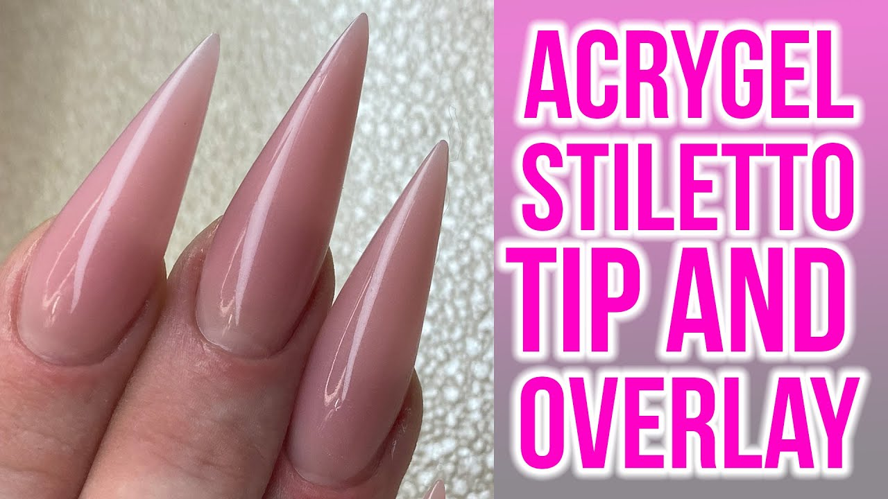 Download Acrygel Overlay using Stiletto Tips - Full Look!