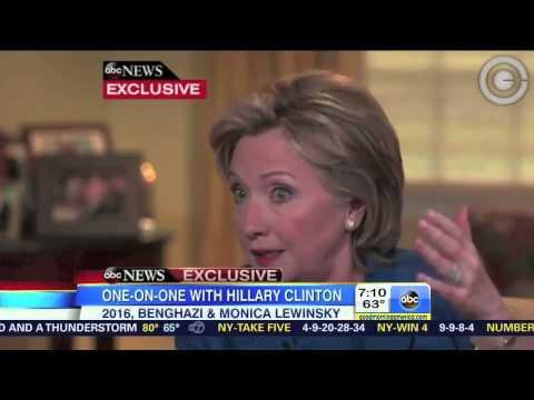 Hillary Clinton: We Were Dead Broke
