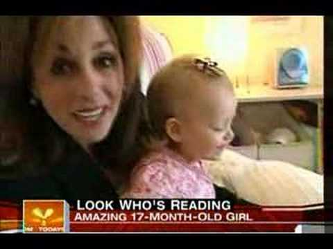 Amazing 17 month old baby reading. - YouTube