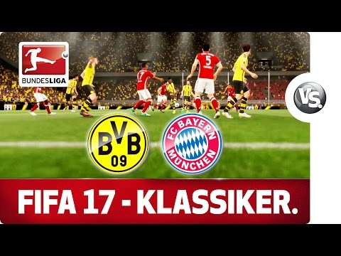 Borussia Dortmund vs. FC Bayern München - FIFA 17 Prediction with EA Sports