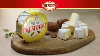 Рекламный ролик сыра Brie President от компании Lactalis. Продакшн ВИЛКА. OLV