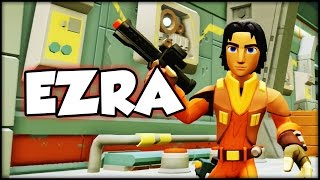 Disney Infinity 3 - Ezra Spark of the Rebellion! (HD)