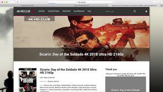 How to download Sicario Day of the Soldado 4K 2018 Ultra HD 2160p?