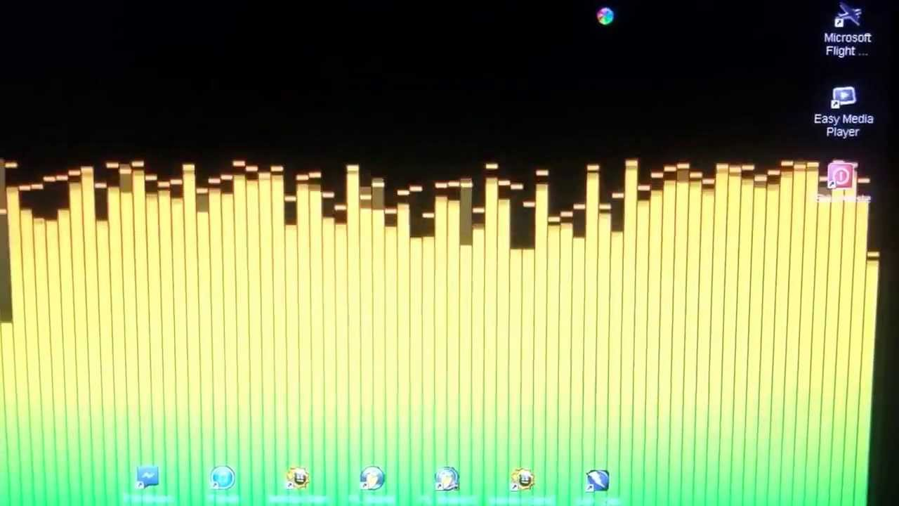 How to get music audio visualizer / live wallpaper on desktop.