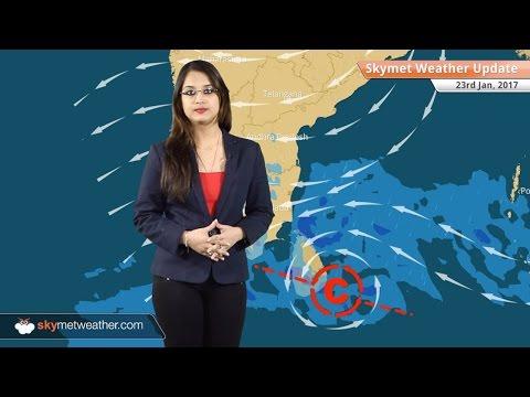 Weather Forecast for Jan 23: Snow in Kashmir, Himachal; Rain in TN; Fog in Delhi