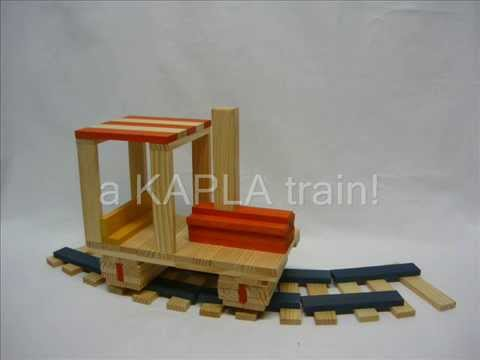 modèle kapla train