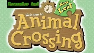 Animal Crossing: New Leaf- December 2nd, 2013 (Glow Wands!)