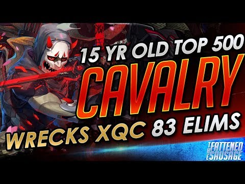 "15 Yr Old Genji Master ""Cavalry"" WRECKS xQc & Gets 83 Elims"