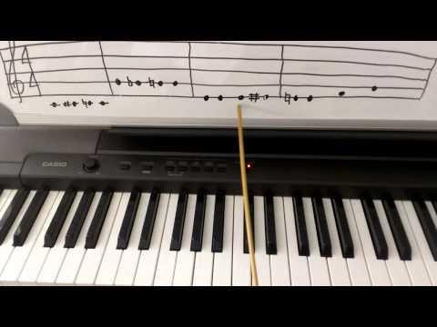 Piano Theory: Natural Sign  Music Theory
