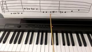 Piano Theory: Natural Sign - Music Theory
