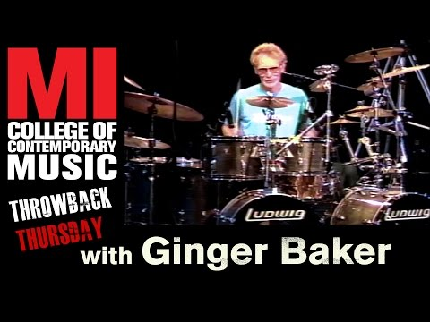 Ginger Baker Throwback Thursday From the MI Vault