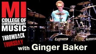 Ginger Baker Throwback Thursday From the MI Vault