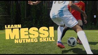 Learn Easy Messi Nutmeg Football skill