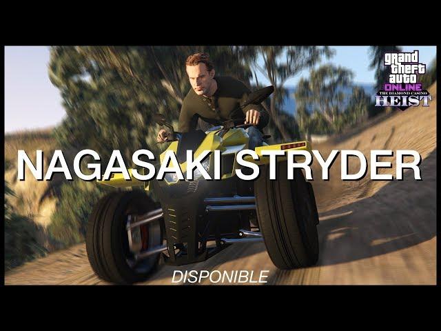 Nagasaki Stryder - Customisation, performance et gameplay - GTA Online