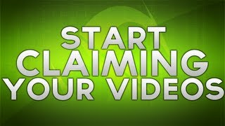 YouTube 101 - How to Claim/Monetize Your Videos