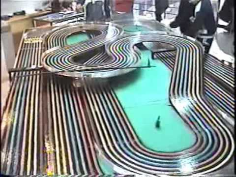 Slot Cars Video 17 Bsrt Wizzard Tyco Competition Unlimited In