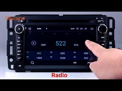 Android 8.0 2007-2012 General GMC Yukon Acadia Radio GPS Sat Nav DVD Head Unit