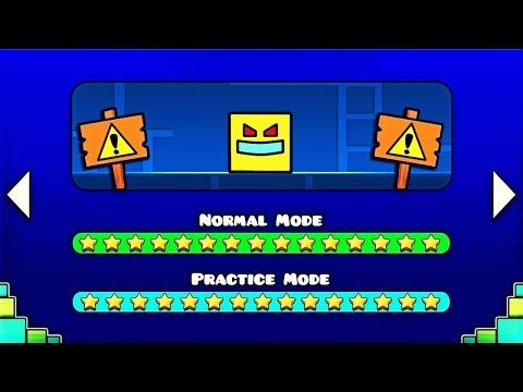 Mira lo que pasa si juegas a este nivel de Geometry Dash... 😱😱