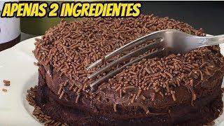 Como Fazer Torta de Nutella 2 ingredientes