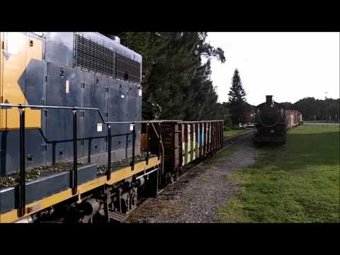 Seaboard Air Line, Stump Gondola arrives at the Florida Railroad Museum