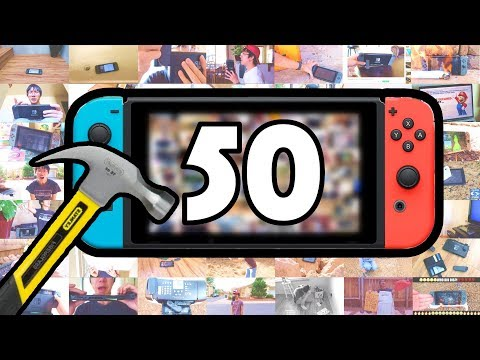 Thumbnail: 50 WAYS TO BREAK A NINTENDO SWITCH