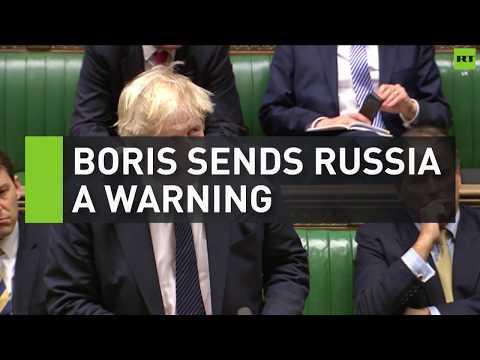 Boris Johnson sends Russia warning over links to ex-spy