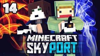 UNBRENNBAR! - Minecraft SkyPort #14 | ungespielt