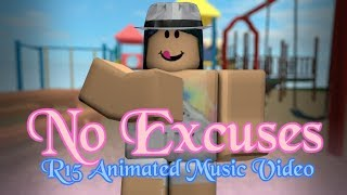 No Excuses - Meghan Trainor | Roblox R15 Animated Music Video