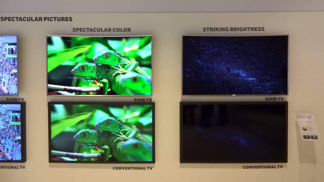 Samsung SUHD vs conventional TV [by FullHD.gr]