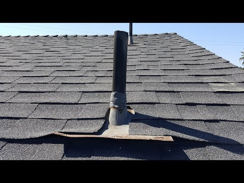 Roofers who do this should be avoided!  Scrimp and Save Roofing strikes again.