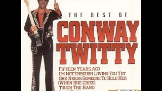 Conway Twitty - Love To Lay You Down (Lyrics on screen)