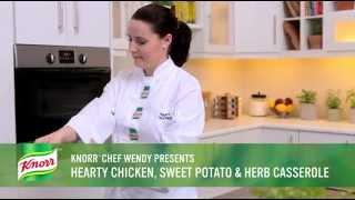 Hearty Chicken, Sweet Potato & Herb Casserole Recipe