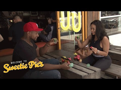 Tim Tries His First L.A. Juice Bar Shots | Welcome to Sweetie Pie's | Oprah Winfrey Network